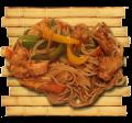 Фунчёза с курицей и овощами