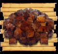 Тофу под чесночно-соевым соусом