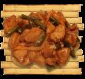 Куриное филе под устричным соусом