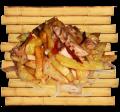 Картофель острый по-китайски с мясом