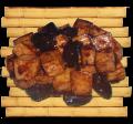 Тофу с грибами шиитаке