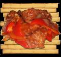 Филе судака под кисло-сладким соусом
